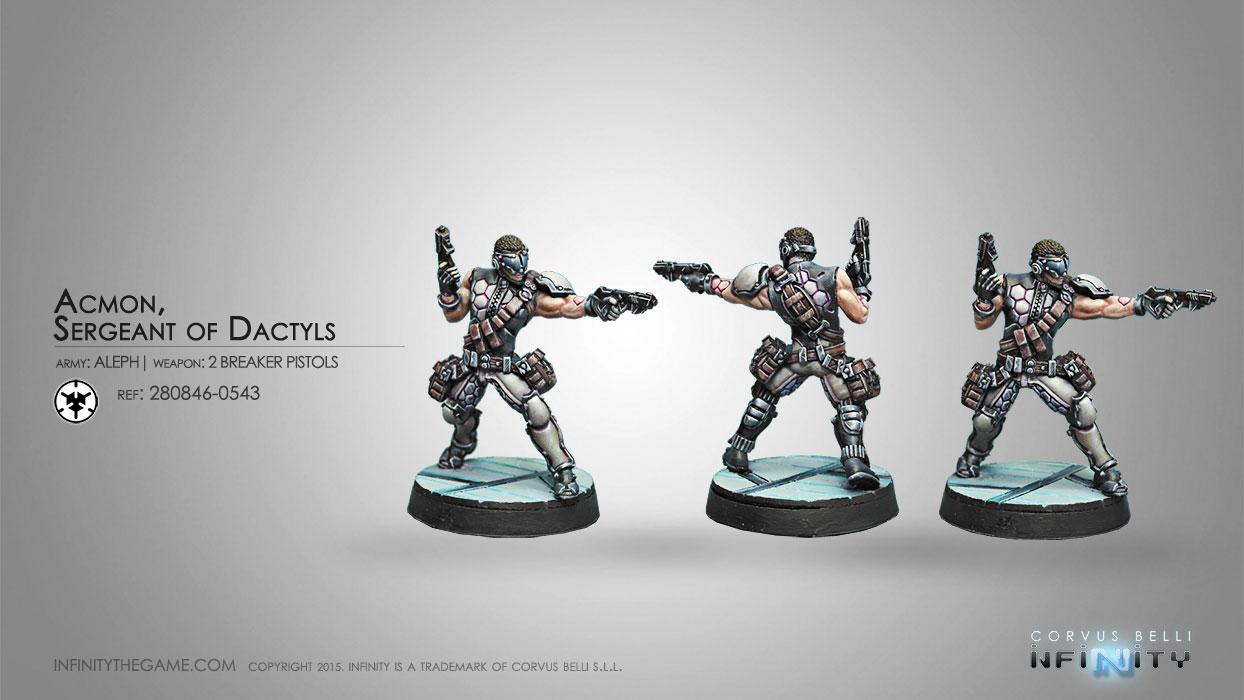 Acmon, Dactyls Sergeant - Infinity
