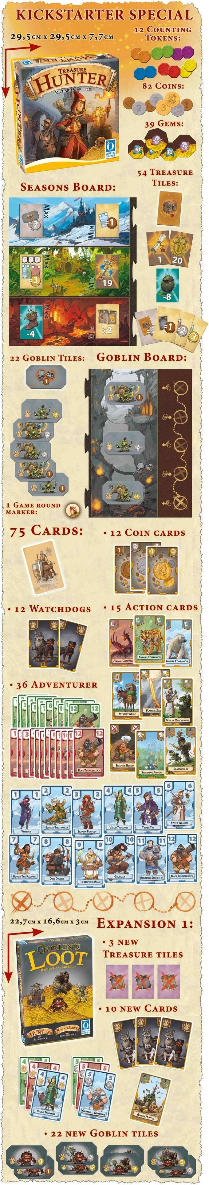 Treasure Hunter Contents
