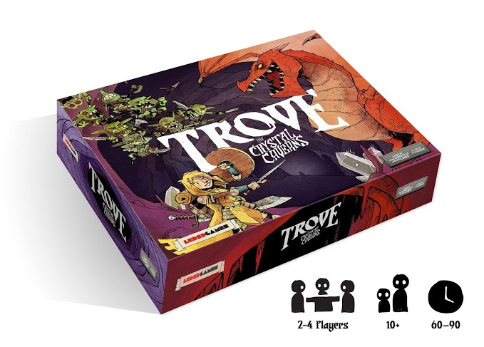 Trove: The Crystal Caverns Game Box