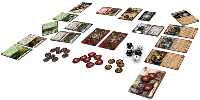 Warhammer Quest Card Game Layout