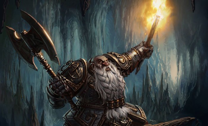 Warhammer Quest Artwor actiondeathfromshadows