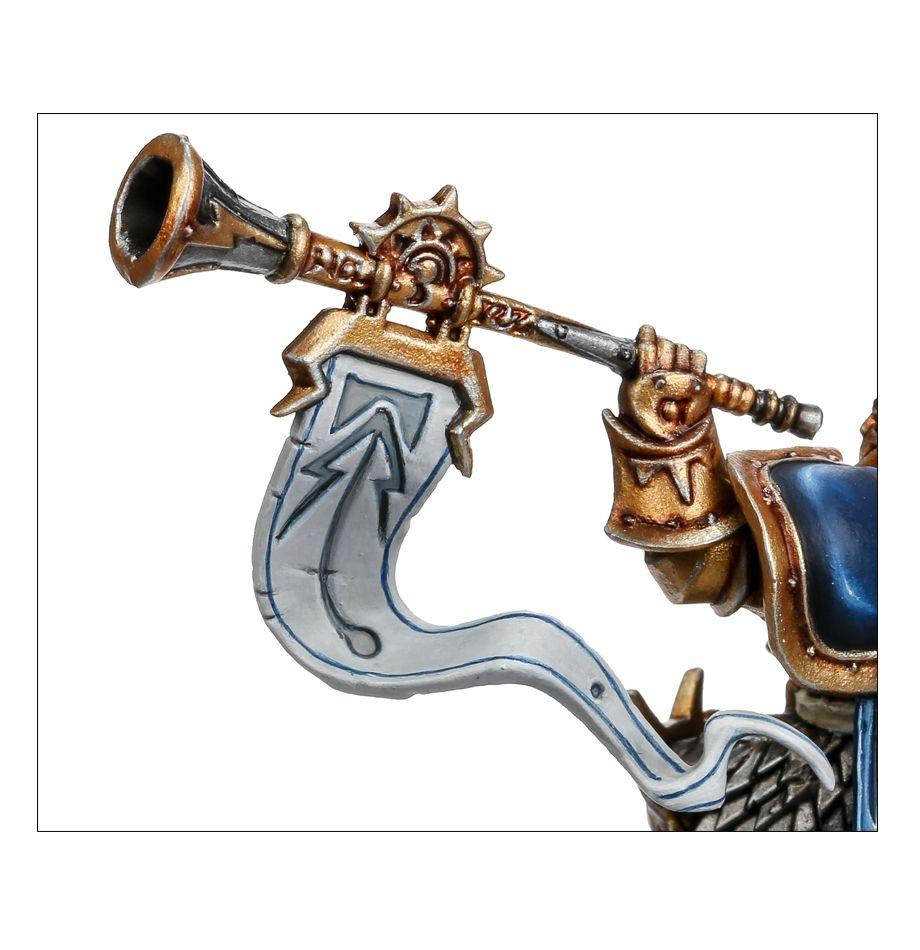 Knight Heraldor Battle Horn Close-up