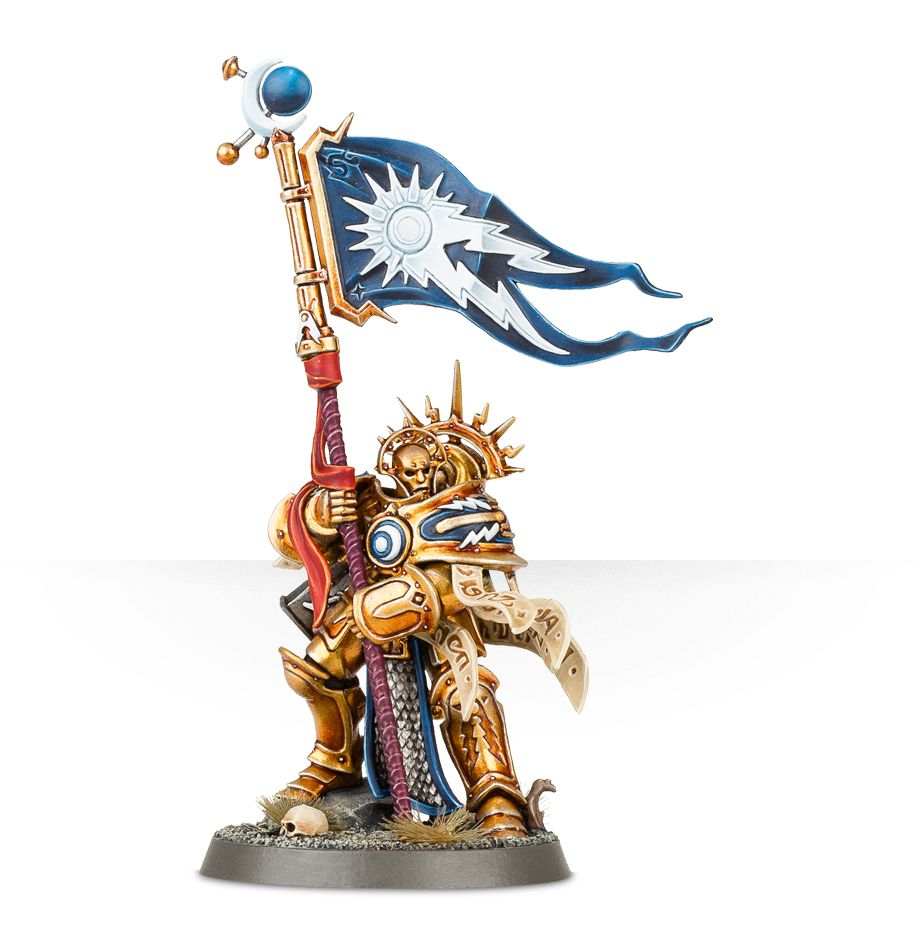 Knight Vexillor With Banner
