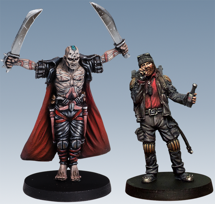 Calavera and Adrian Kickstarter Exclusive heroes