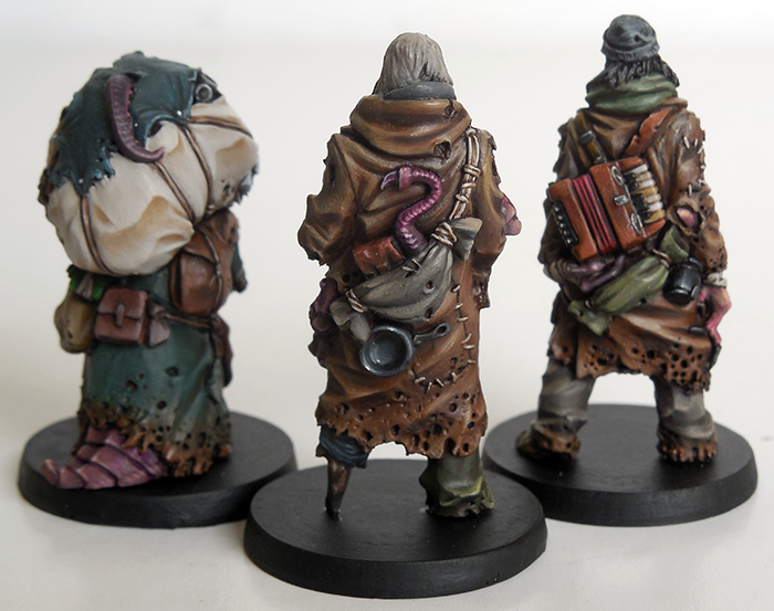 Corrupted Hobo Acolytes - Rear View