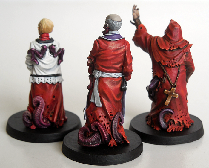 Corrupted Nun Acolytes - Rear View