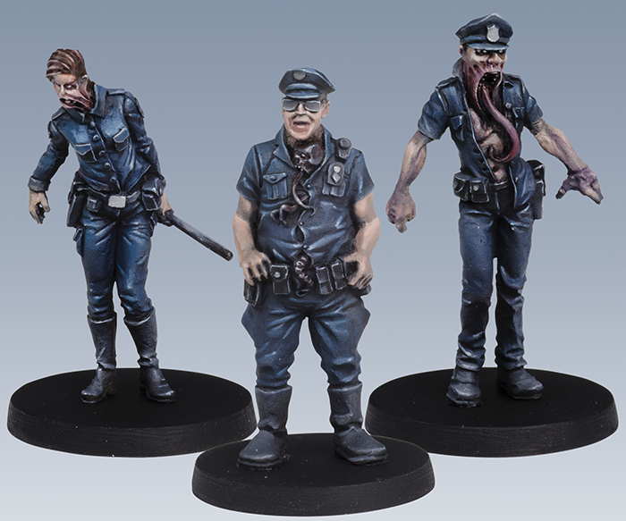 Corrupted Police Acolytes