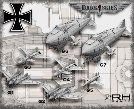 4th German Reich - Dark Skies 1942