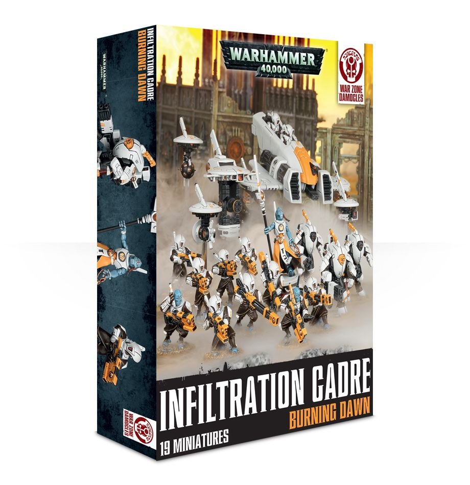 Infiltration Cadre Burning Dawn Box