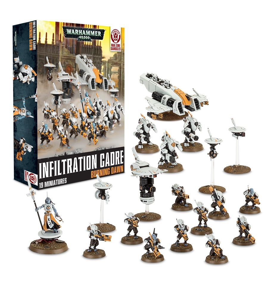 Infiltration Cadre Burning Dawn Box Set