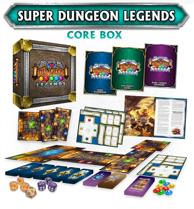 Super Dungeon Explore Legends Game Contents