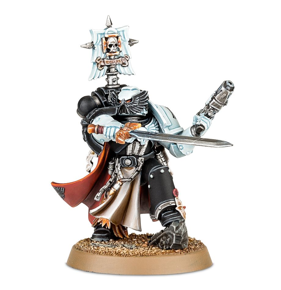Shadow Force Solaq Exclusive Space Marine Captain