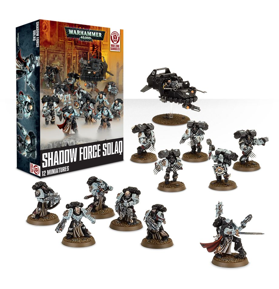 Shadow Force Solaq Box Set