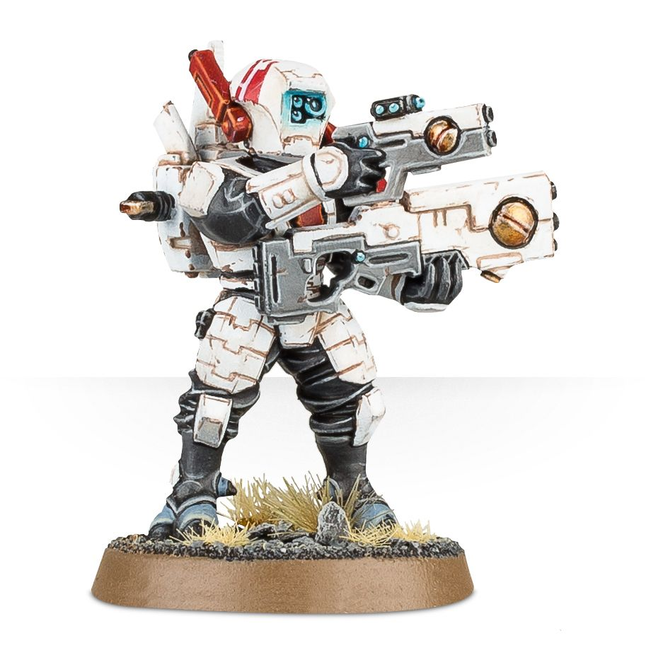 Fire Warrior Breacher with Pulse Pistol