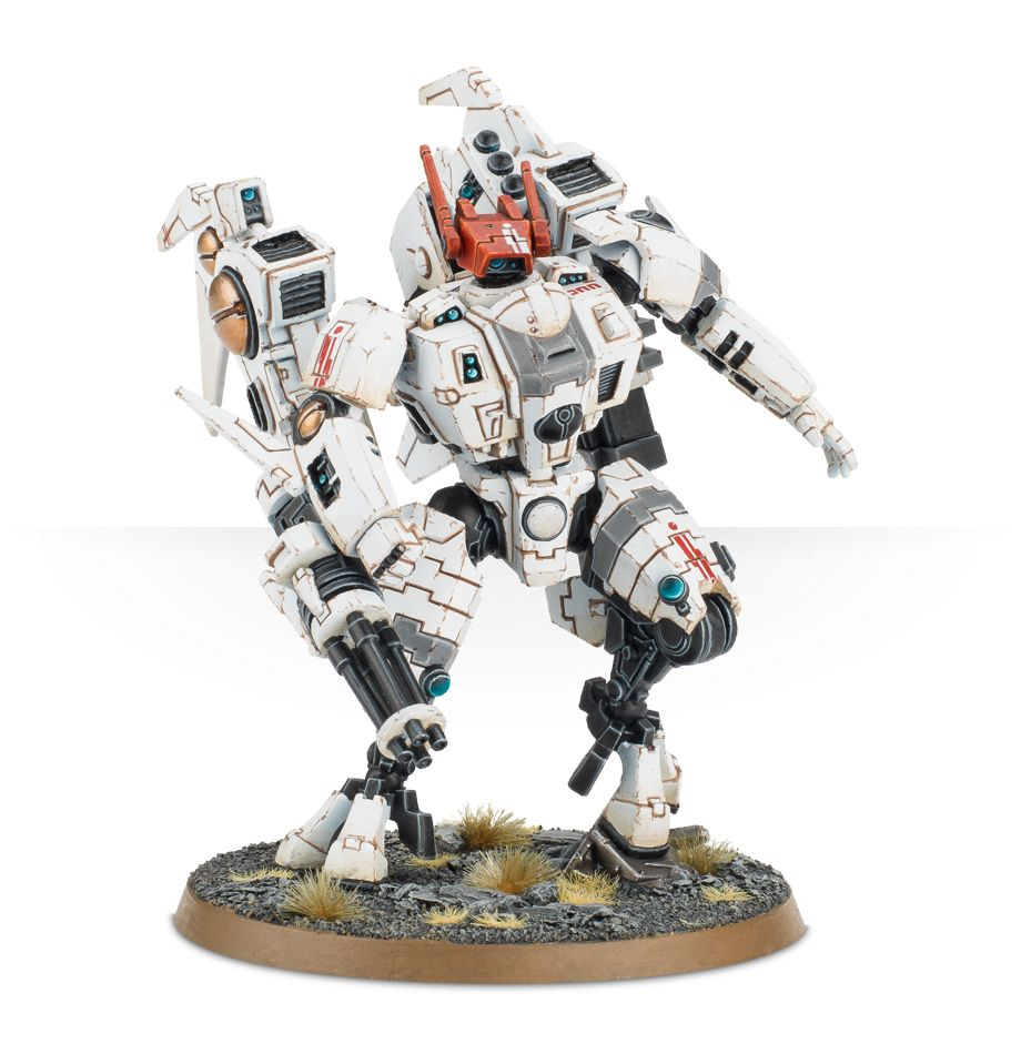 Tau Commander XV86 Coldstar Battlesuit