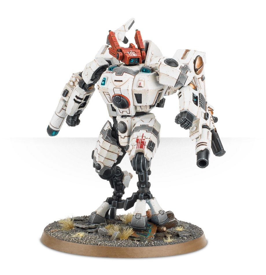 Tau Commander XV85 Enforcer Armour Crisis Battlesuit