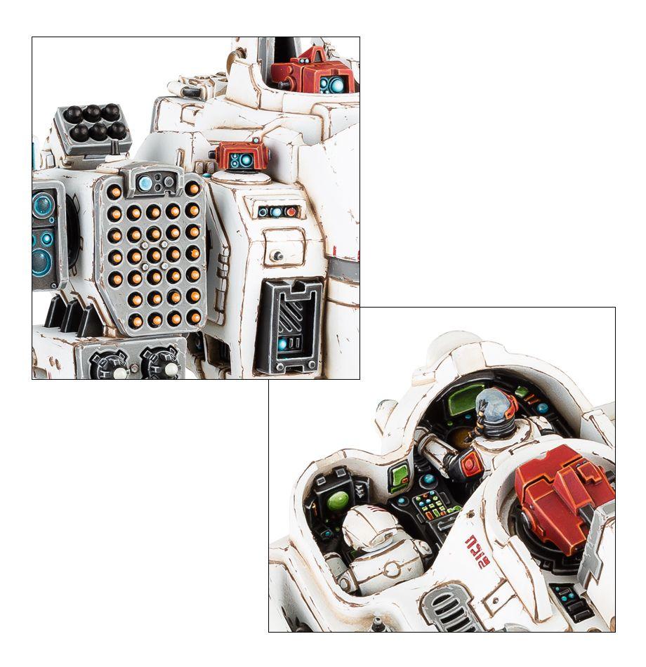 KV128 Stormsurge - Missle Pod and Pilots