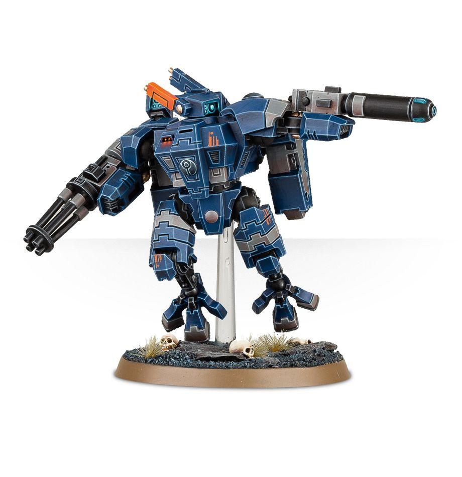 Tau XV8 Crisis Battlesuit Alt Paint Scheme