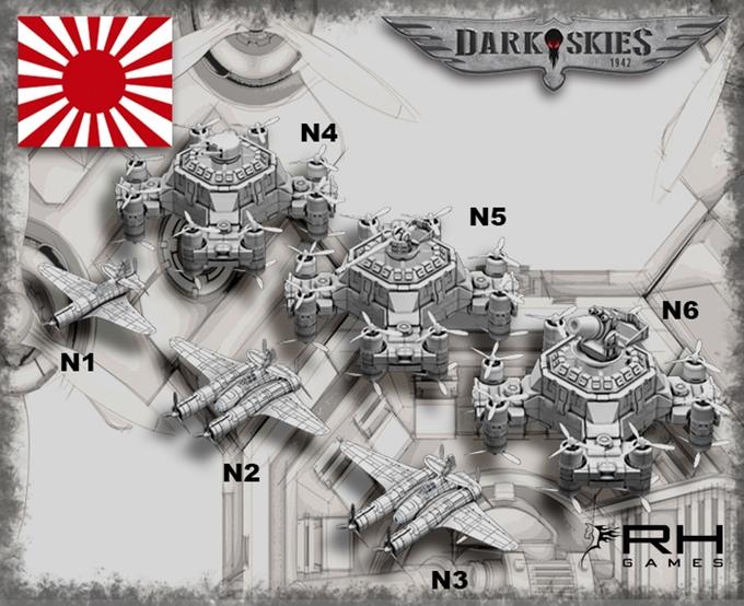Imperial Japan - Dark Skies 1942