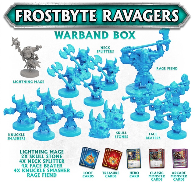 Frostbyte Ravagers Super Dungeon Explore