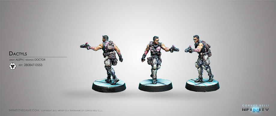 Dactyls, Steel Phalanx Support Corps - Aleph