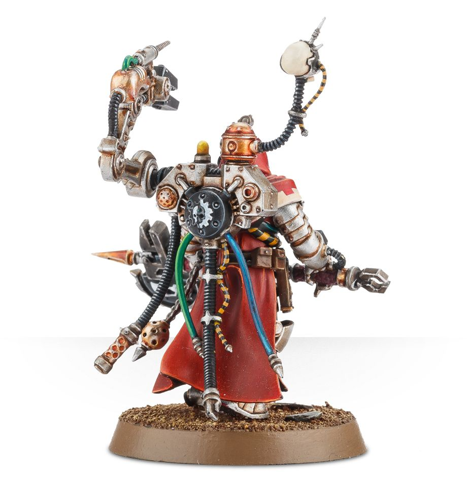 Tech-Priest Enginseer Rear View
