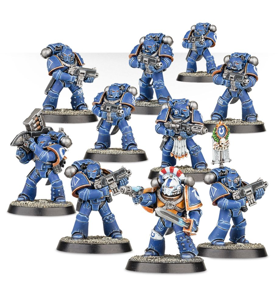 Betrayal at Calth - Tactical Space Marines in MK4 Armour