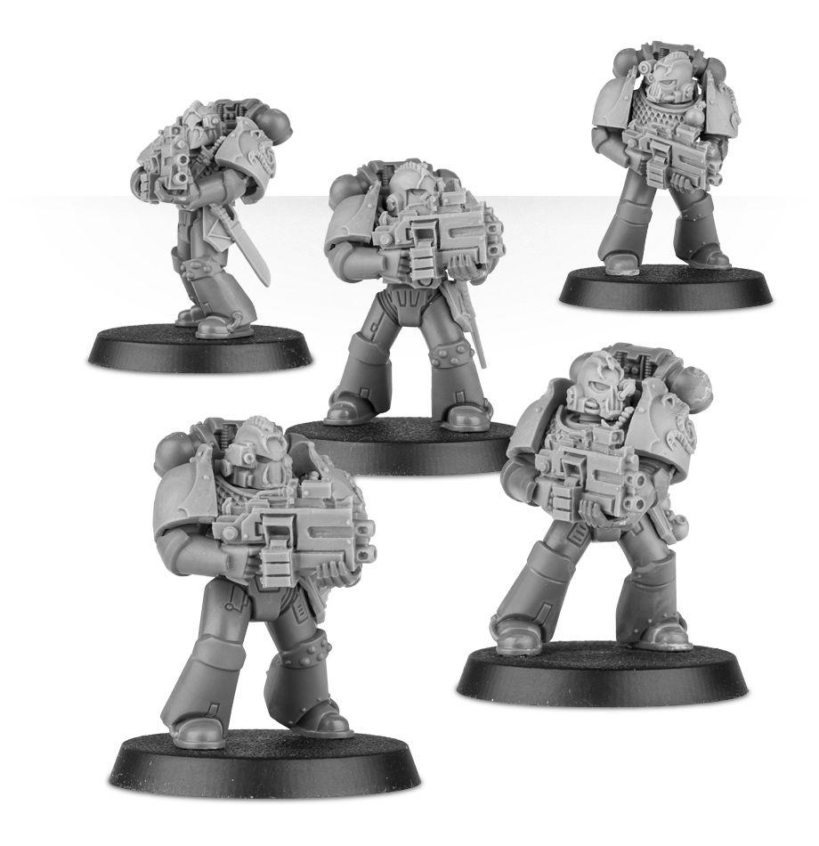 Alpha Legion Headhunter Kill Team Upgrade Set - Resin