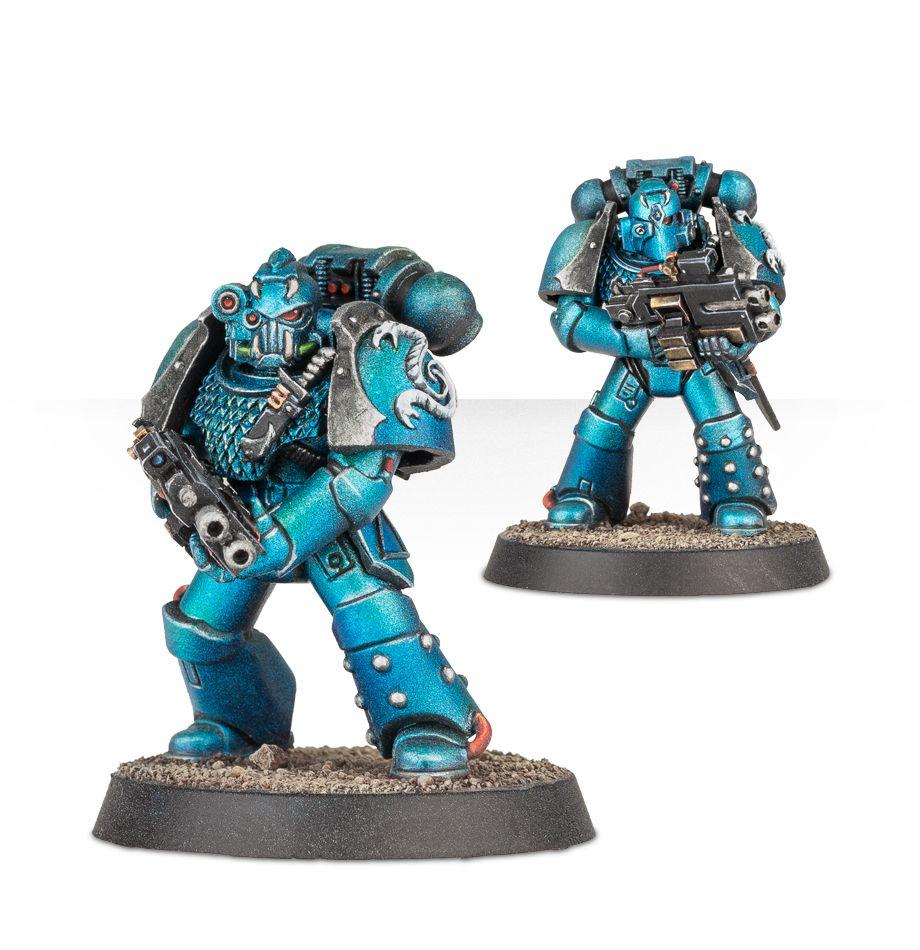 Alpha Legion Headhunter Kill Team - More Stances