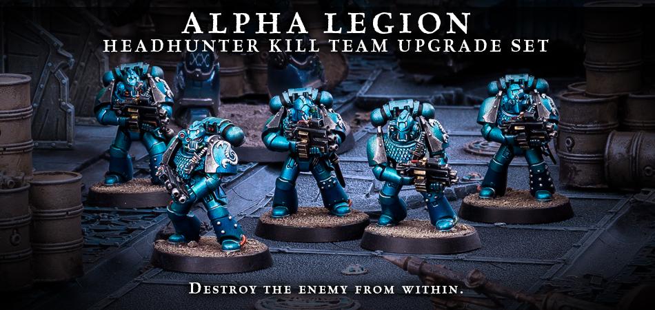 Alpha Legion Headhunter Kill Team banner
