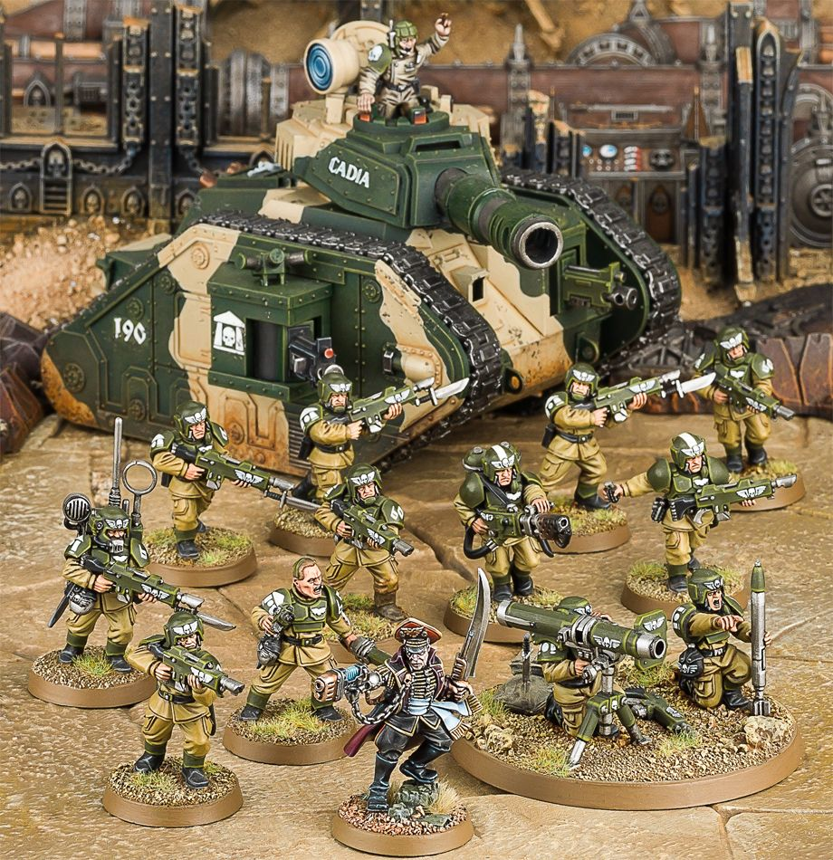 Start Collecting! Astra Militarum Miniatures