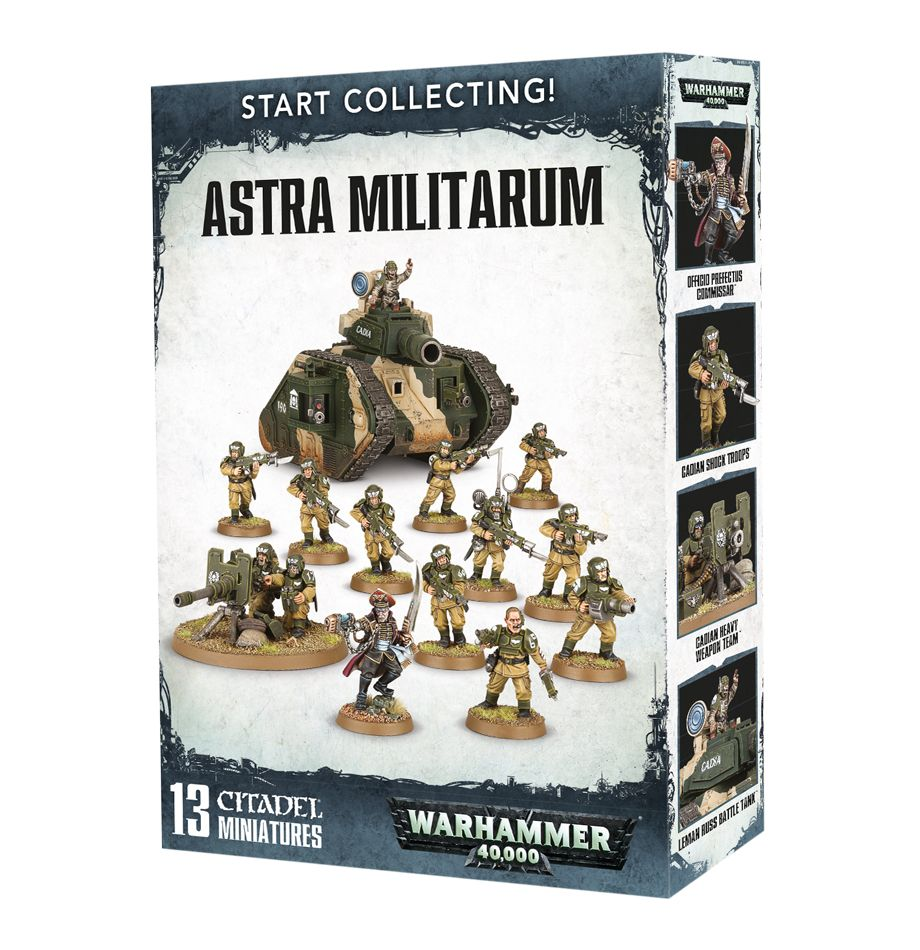 Start Collecting! Astra Militarum Box Set