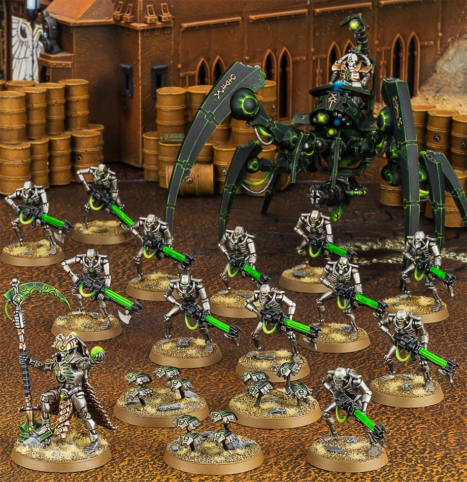 Start Collecting! Necrons Miniatures