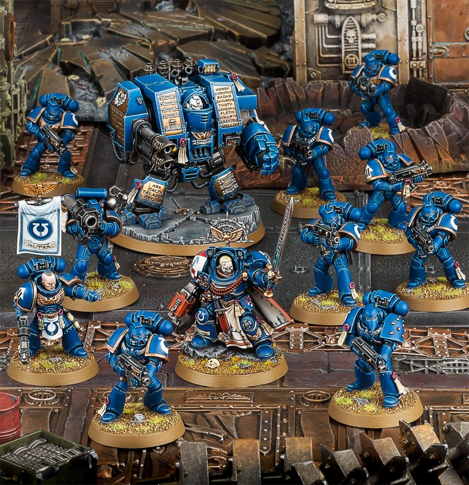 Start Collecting! Space Marines Miniatures