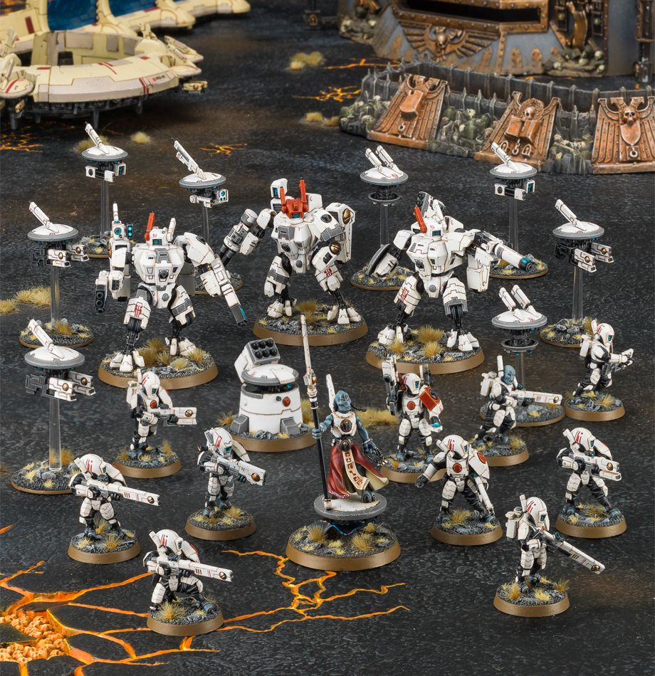Start Collecting! Tau Miniatures