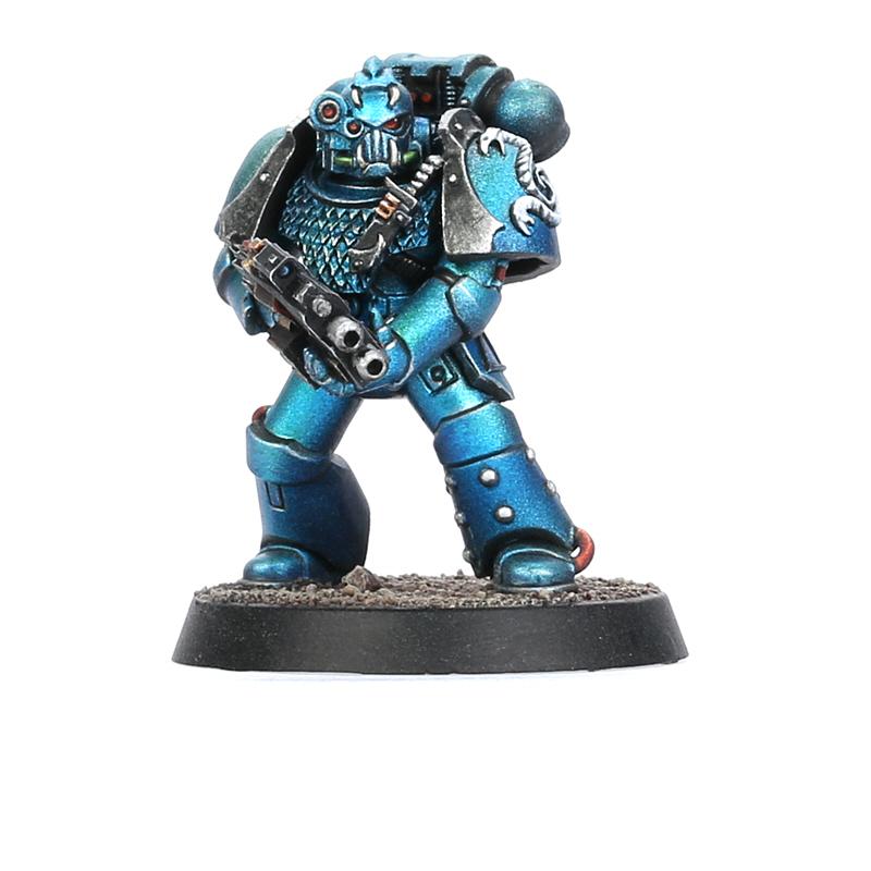 Alpha Legion Headhunter Kill Team Member