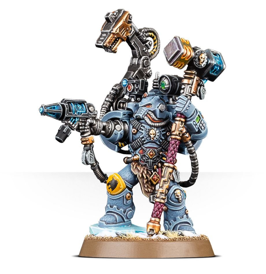 Image result for space wolves iron priest