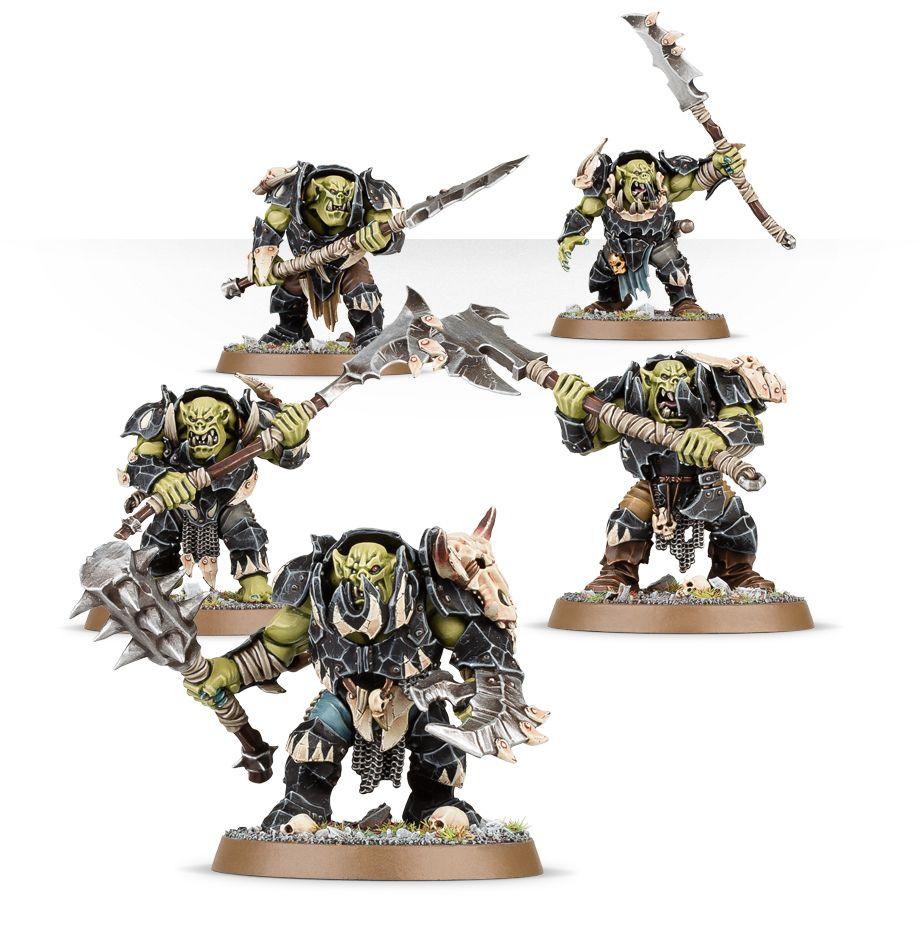 New Orruk Ironjawz Units
