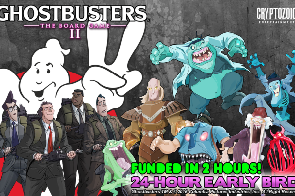 Ghostbuster 2 Boardgame on Kickstarter