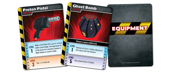 Ghostbusters 2 Equipment Cards