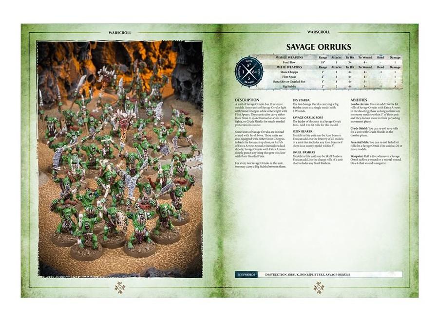 Grand Alliance: Destruction Book - Savage Orruks Excerpt