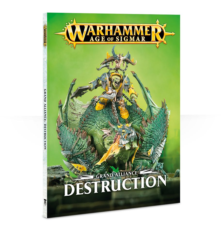 Grand Alliance: Destruction Book