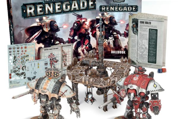 Imperial Knights: Renegades 2018 box