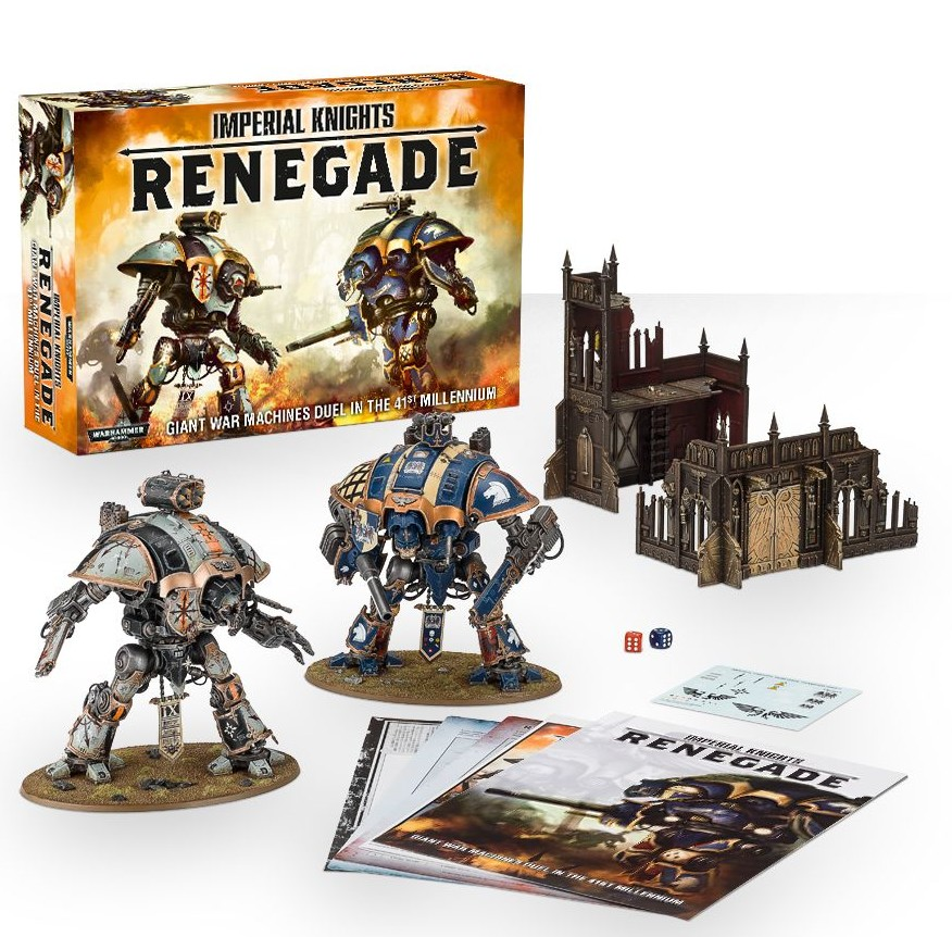 Imperial Knights: Renegade Boxed Game