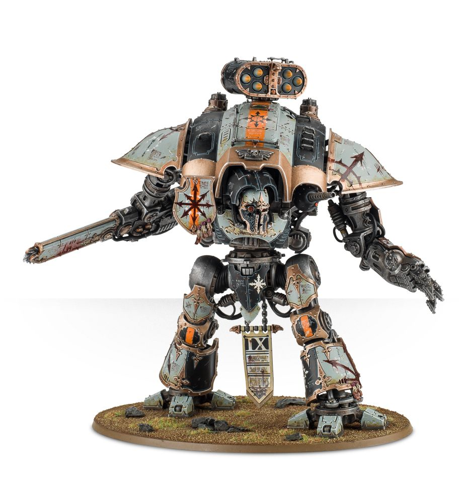 Imperial Knights: Renegade - Renegade Knight Litany of Destruction
