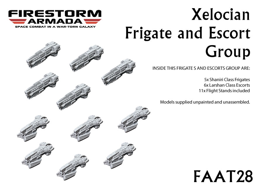 Xelocian Frigate and Escort Group