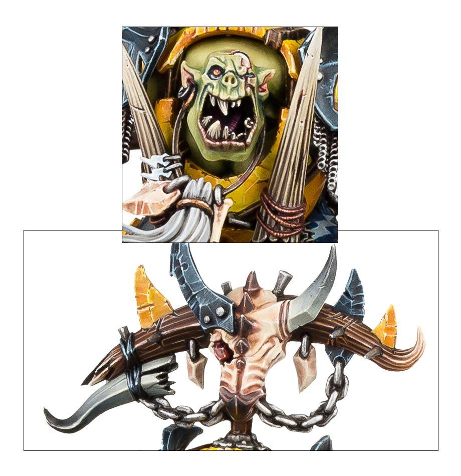 Megaboss on Maw-krusha - Face Detail