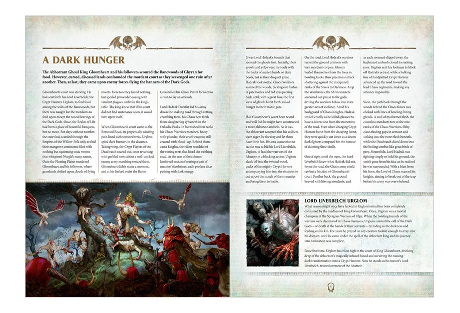 Flesh-eater Courts Battletome - Excerpt