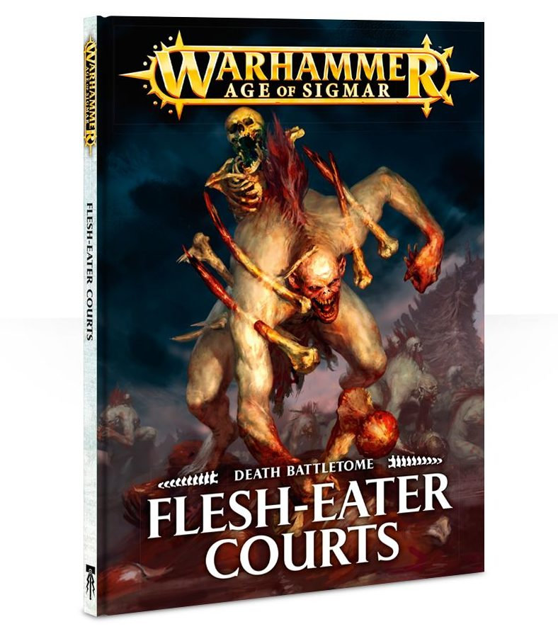 Flesh-eaters Courts Battletome