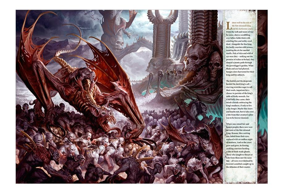 Flesh-eater Courts Battletome - Artwork